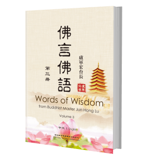 Words of Wisdom from Buddhist Master Jun Hong Lu Vol 3