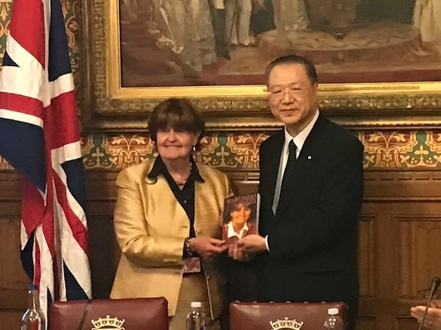 Master Lu and Baroness Cox